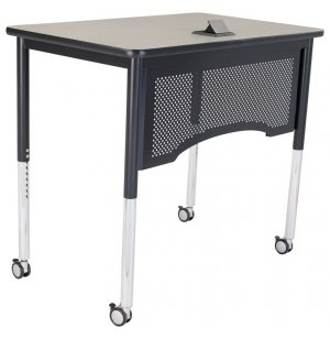 Adjustable-Height Vantage Teacher's Desk