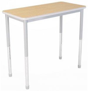 Dura Heavy Duty Adjustable Standing Classroom Table