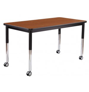 Fully Welded Adjustable Classroom Table