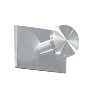 Single Satin-Aluminum Coat Hook