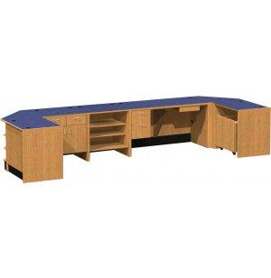 Ultima Circulation Desk Typical 1