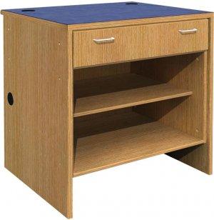 Ultima Single Drawer Open Shelf