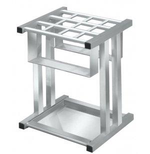 Full/Mini Satin Aluminum  Umbrella Stand , cap 12