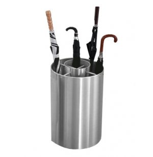 Full/Tote Satin Aluminum Umbrella Stand