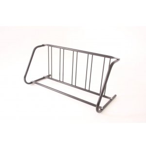 Commercial Bike Rack - 5 Capacity, Galvanized