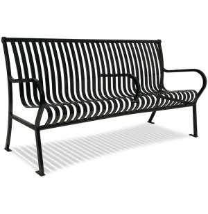 Hamilton Steel Outdoor Park Bench