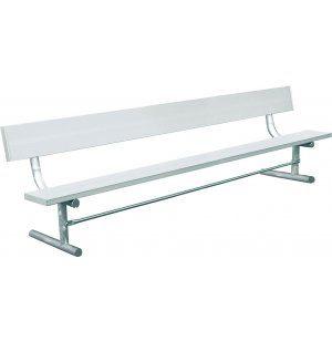 8' Team Bench with Back