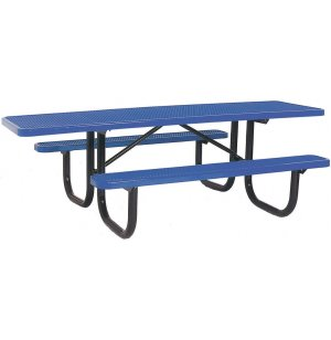 8' Wheelchair Accessible Diamond Cut Picnic Table