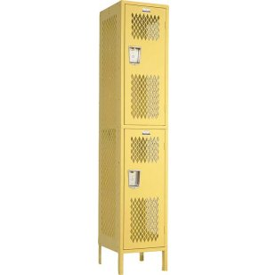 Invincible 2-Tier Steel Sports Locker