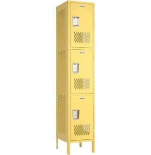 Invincible 3-Tier Steel Sports Locker