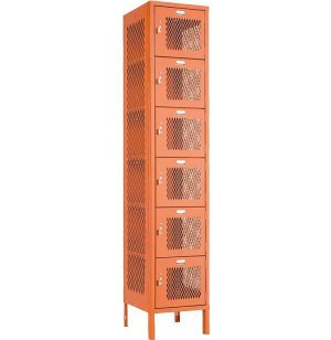 Invincible 6 Tier Steel Sports Locker