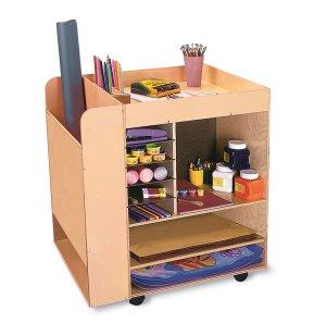 Art Supply Cart