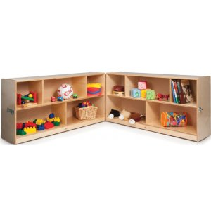"Fold & Roll Toy Storage Cabinet - 30""H"