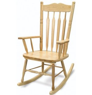 Hardwood Adult Rocking Chair