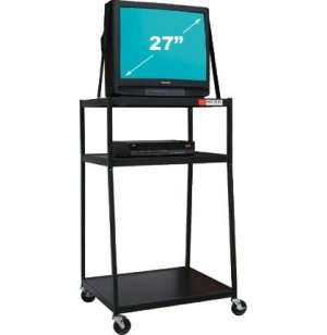 Wide Body AV Cart for 27-inch Monitor
