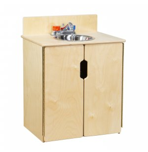 WD Tip-Me-Not Wooden Play Kitchen Sink