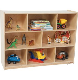 Healthy Kids Eco-Friendly Mobile Cubby Storage
