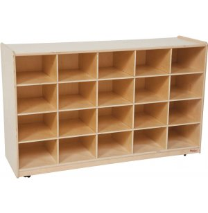 Mobile Cubby Storage - 20 Cubbies