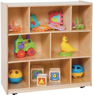 Mobile Classroom Cubby Storage
