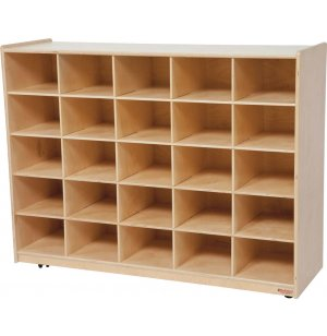 25 Cubby Storage Unit without Trays