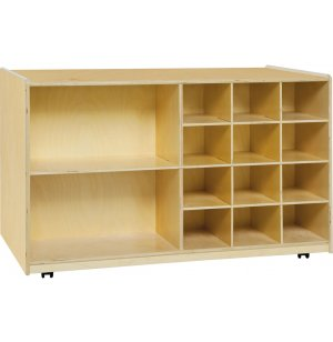 Double-Sided Storage Without Trays