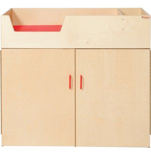 Wooden Deluxe Infant Care Center