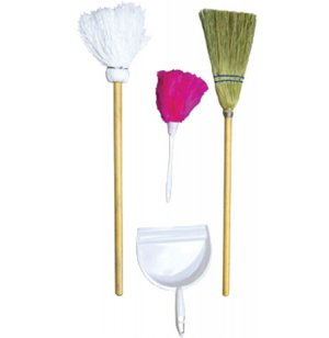 Housekeeping Playset - Set of 4 Accessories