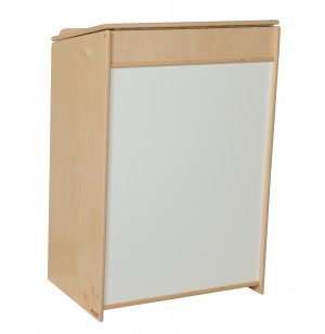 Wooden Classroom Sign-In Center