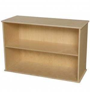 Two-Shelf Preschool Classroom Storage