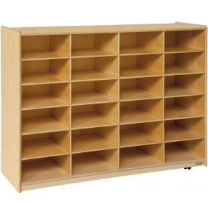 Mobile Cubby Storage - 24 Cubbies