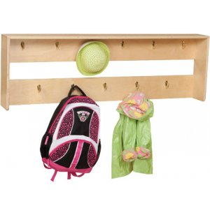Wooden Preschool Wall Locker