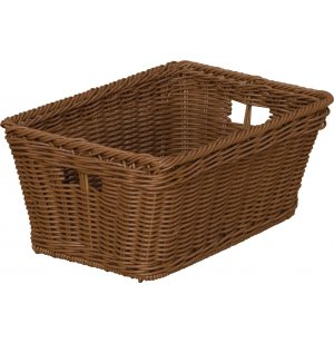 Small Plastic Wicker Preschool Storage Baskets - Set of 10
