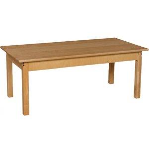 Rectangle Hardwood Table