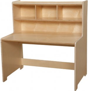 Preschool Writing Center Desk by Wood Designs