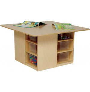 Cubby Storage Preschool Table