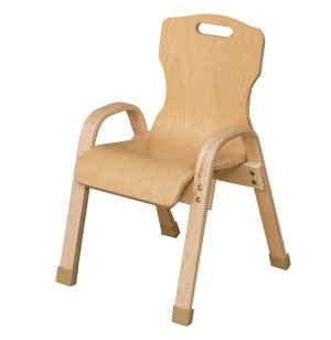 Bentwood Stackable School Chair