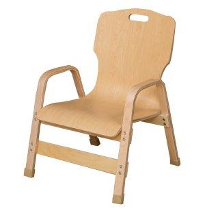 Bentwood Stackable Teachers Chair