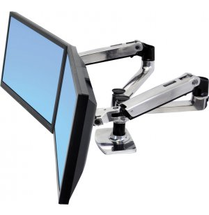 LX Side-By-Side Dual Monitor Arm Desk Mount