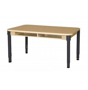Adjustable Laminate Double Student Desk