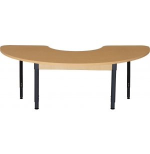 Laminate Kidney Adjustable Classroom Table