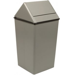 Swing-Top Trash Receptacle