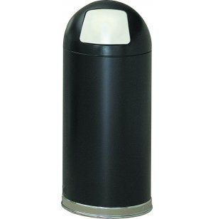 Dome-Top Trash Receptacle