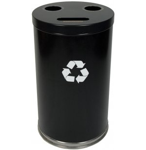 Recycling Container with 3 Openings
