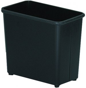 Rectangular Steel Trash Can