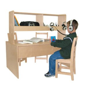 Classroom Listening Center Table
