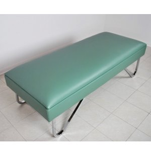 WMC Standard Recovery Couch with Chrome Legs
