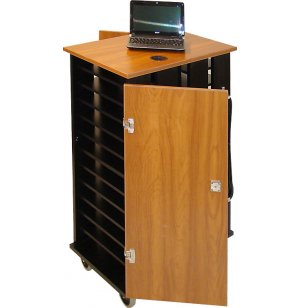 Netbook Tablet iPad Charging Cart - 24 Unit