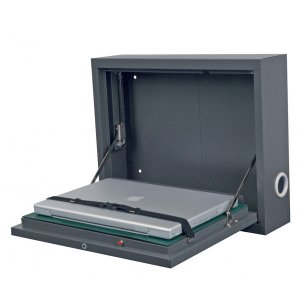 Wall-Mount Laptop Case