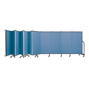 WALLmount Movable Wall - 11 Panels