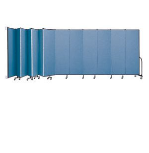 WALLmount Movable Wall - 13 Panels